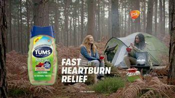 Tums Naturals TV Spot, 'Camping Trip Chili' - Thumbnail 7