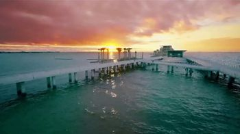 Visit St. Petersburg/Clearwater TV Spot, 'Immerse Your Senses in St. Pete/Clearwater!' - Thumbnail 4