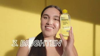 Garnier SkinActive Micellar Cleansing Water Brightening TV Spot, 'Swipe Away Dull Skin' Song by Lizzo