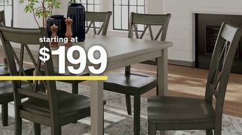 Ashley HomeStore Sale + Clearance Event TV Spot, 'Dining Tables and Sofa Savings' - Thumbnail 4