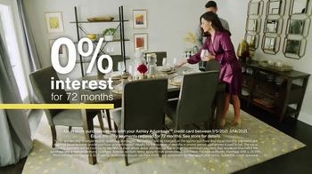 Ashley HomeStore Sale + Clearance Event TV Spot, 'Dining Tables and Sofa Savings' - Thumbnail 7