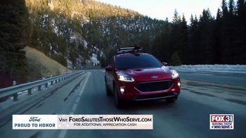 Ford Proud to Honor TV Spot, 'FOX 31 Denver: Serving Those Who Serve' [T2] - Thumbnail 7