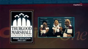 Capital One Financial Corporation TV Spot, 'HBCUs: Opportunity' - Thumbnail 6