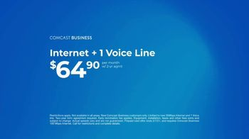 Comcast Business TV Spot, 'Resolutions: Internet + 1 Voice Line for $64.90 a Month, $500 Prepaid' - Thumbnail 9