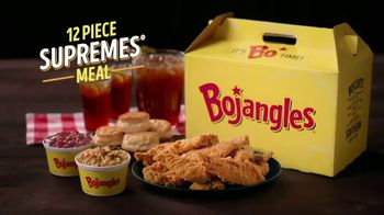 Bojangles 12-Piece Supremes Meal TV Spot, 'Tired of Cooking'