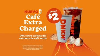 Dunkin' Extra Charged Coffee TV Spot, 'Extra potente' [Spanish] - Thumbnail 5