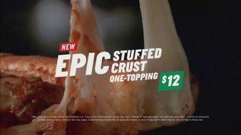 Papa John's Epic Stuffed Crust Pizza TV Spot, 'Never Been More Wrong' - Thumbnail 9