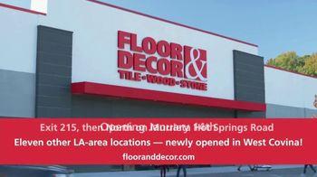 Floor & Decor TV Spot. 'Grand Opening: Murietta' - Thumbnail 10