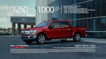 Ford Built for the Holidays Sales Event TV Spot, 'Rear View' [T2] - Thumbnail 8