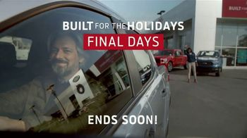 Ford Built for the Holidays Sales Event TV Spot, 'Rear View' [T2] - Thumbnail 7