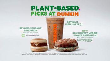Dunkin' Plant Based Picks TV Spot, 'Plant Based Change of Pace' - Thumbnail 7