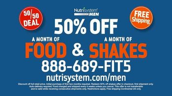 Nutrisystem 50/50 Deal TV Spot, 'Doorbell: 50 Percent Off Food and Shakes' - Thumbnail 10