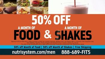 Nutrisystem 50/50 Deal TV Spot, 'Doorbell: 50 Percent Off Food and Shakes' - Thumbnail 3