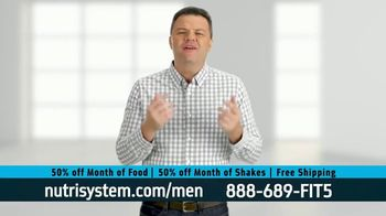 Nutrisystem 50/50 Deal TV Spot, 'Doorbell: 50 Percent Off Food and Shakes' - Thumbnail 4