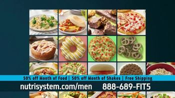 Nutrisystem 50/50 Deal TV Spot, 'Doorbell: 50 Percent Off Food and Shakes' - Thumbnail 7