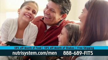 Nutrisystem 50/50 Deal TV Spot, 'Doorbell: 50 Percent Off Food and Shakes' - Thumbnail 8