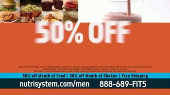 Nutrisystem 50/50 Deal TV Spot, 'Doorbell: 50 Percent Off Food and Shakes' - Thumbnail 9