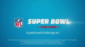 NFL Super Bowl Challenge TV Spot, 'Playoffs' [Spanish] - Thumbnail 10
