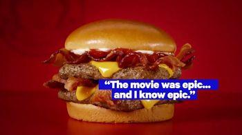 Wendy's Baconator TV Spot, 'MTV Movie & TV Awards: Tasty Takes' Featuring Terrell Grice - Thumbnail 5