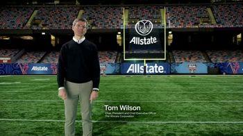 Allstate TV Spot, '2021 College Football Playoff: Sugar Bowl' - Thumbnail 4