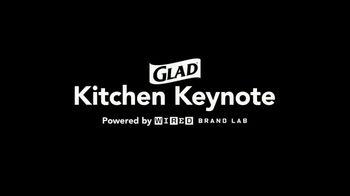 Glad ForceFlex Plus TV Spot, 'Kitchen Keynote' Featuring Angela Kinsey - Thumbnail 1