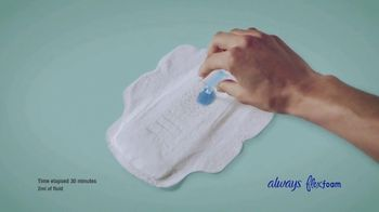 Always Pure Cotton With FlexFoam TV Spot, 'Like No Other' - Thumbnail 6