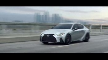 2021 Lexus IS TV Spot, 'Names' Featuring Jack Hawksworth, Song by Ebo Taylor, Jr. [T1] - Thumbnail 9