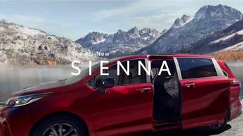 2021 Toyota Sienna TV Spot, 'Lakeside' [T1]