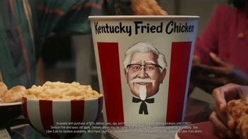 KFC $20 Fill Up TV Spot, 'Colonel Bucket: Free Delivery' - Thumbnail 8