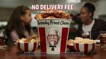 KFC $20 Fill Up TV Spot, 'Colonel Bucket: Free Delivery' - Thumbnail 9