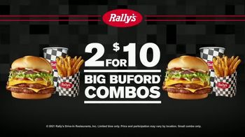 Rally's Big Buford Combo TV Spot, 'Double' - Thumbnail 9