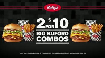 Rally's Big Buford Combo TV Spot, 'Double' - Thumbnail 2