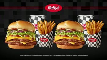 Rally's Big Buford Combo TV Spot, 'Double' - Thumbnail 8