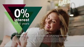 Ashley HomeStore New Years Mattress Sale TV Spot, 'Extended: 0% Interest and $300 Ashley Cash' - Thumbnail 3