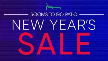 Rooms to Go Patio New Year\'s Sale TV Spot, \'Hello 2021\'