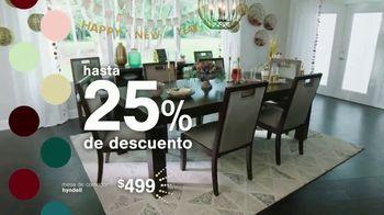 Ashley HomeStore New Years Sale TV Spot, '25% de descuento y 0% intereses: mesa y escritorio' [Spanish] - Thumbnail 4
