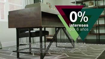 Ashley HomeStore New Years Sale TV Spot, '25% de descuento y 0% intereses: mesa y escritorio' [Spanish] - Thumbnail 5