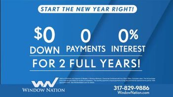 Window Nation TV Spot, 'New Year: Get Two Windows' - Thumbnail 4