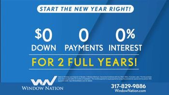 Window Nation TV Spot, 'New Year: Get Two Windows' - Thumbnail 5