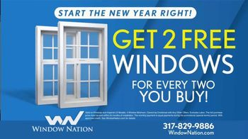 Window Nation TV Spot, 'New Year: Get Two Windows' - Thumbnail 7