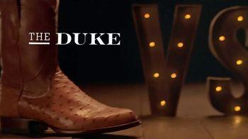 Tecovas TV Spot, 'The Duke vs. Fancy Italian Shoe' - Thumbnail 1