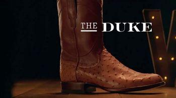 Tecovas TV Spot, 'The Duke vs. Fancy Italian Shoe' - Thumbnail 4
