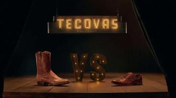 Tecovas TV Spot, 'The Duke vs. Fancy Italian Shoe'