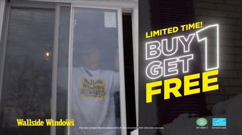 Wallside Windows TV Spot, 'Buy One, Get One: Limited'