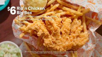 Popeyes $6 Rip'n Chicken Big Box TV Spot, 'Liliflorart' [Spanish] - Thumbnail 5