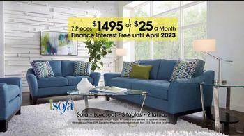 Rooms to Go 27th Anniversary Sale  TV Spot, 'iSofa Living Room Set' - Thumbnail 4