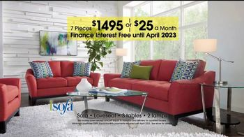 Rooms to Go 27th Anniversary Sale  TV Spot, 'iSofa Living Room Set' - Thumbnail 5