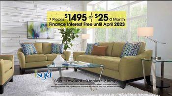 Rooms to Go 27th Anniversary Sale  TV Spot, 'iSofa Living Room Set' - Thumbnail 6