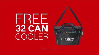 Ashley HomeStore One Day Sale TV Spot, 'Free Cooler' - Thumbnail 8