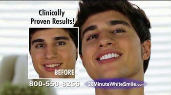 20 Minute White Smile TV Spot, 'Game Changing' - Thumbnail 5